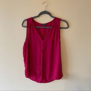 Adrianna Papell Womens Pink Tank Top Blouse